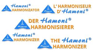 Logo Hamoni® Harmonisierer verschiedenen Sprachen