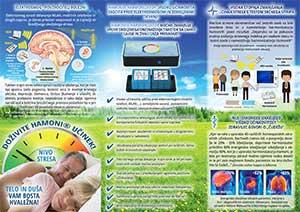 Info-Folder Hamoni® Harmonisierer auf Slowenisch, Innenseite