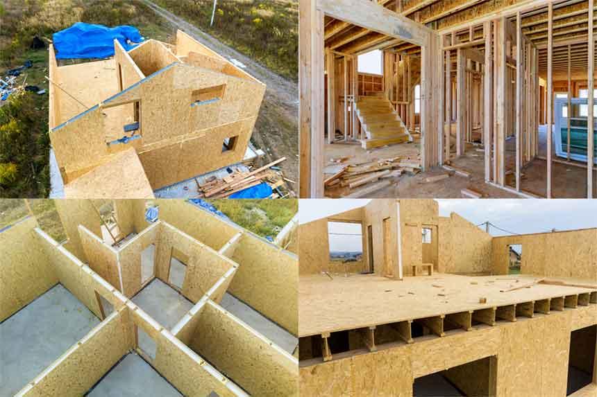 Durch 5G belastetes Haus in Holzriegelbauweise