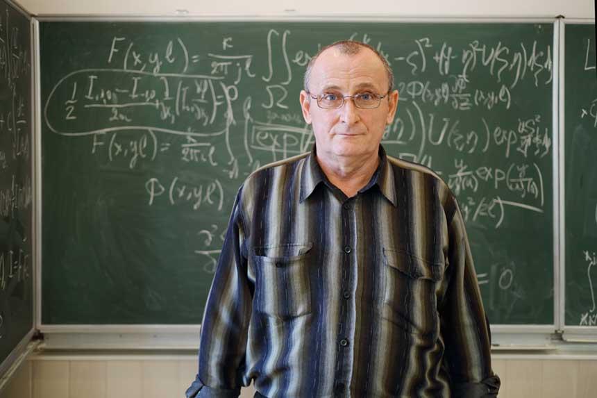 Ein Mathematiklehrer