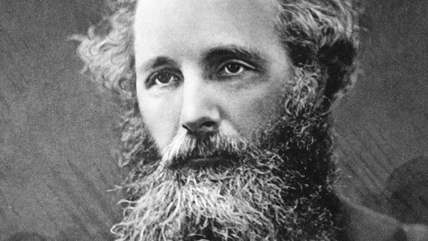 Portraitfoto von James Clerk Maxwell (1831-1879)